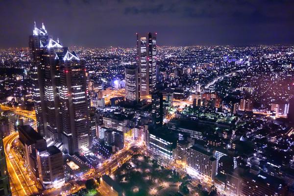 Shinjuku Nightscape By Rx100