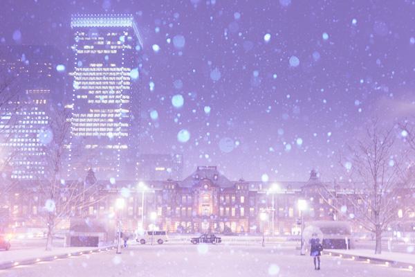 Snow Tokyo Station