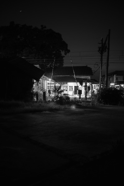 Nishi Uozu At Night
