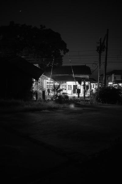 Nishi Uozu At Night